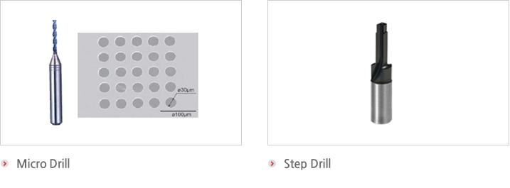 Micro drill,Step drill
